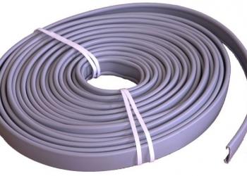 Поручень пластиковый из ПВХ для стальных перил в подъезд