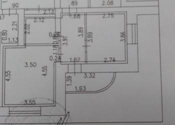 1-к квартира, 38 м2, 5/9 эт.