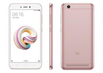 Xiaomi Redmi 5A 16GB Rose Gold.