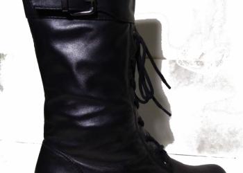 Ботинки женские зимние высокие натуральная кожа
