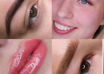 Перманентный макияж, ббглоу, лечение волос.