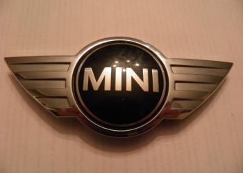 Эмблема капота мини купер