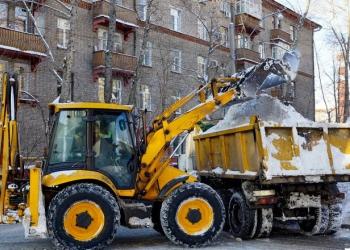Уборка Снега в Томске
