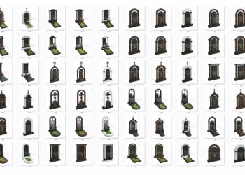 3d каталог памятников