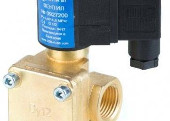 """Вентиль электромагнитный ЗИТА тип 0927200 1/2"""" катушка 220V, 24V"""