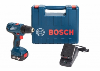 Аренда и прокат. Дрель-шуруповерт Bosch GSR 140-LI 1.5Ah x2 Case.