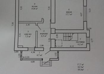 Коттедж 118 м2 с участком 14 сот.