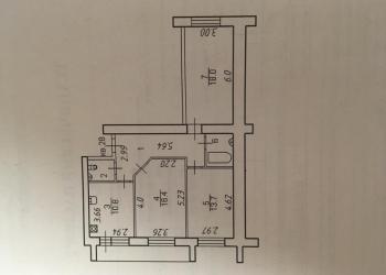 3-к квартира, 80 м2, 2/6 эт.