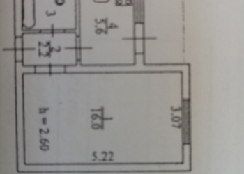 1-к квартира, 28 м2, 9/9 эт.