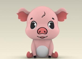 Надувная свинка