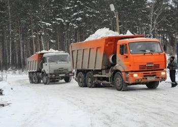 Сброс снега с крыш. Чистка и вывоз снега с территорий. Оперативно, качественно!