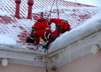 Уборка снега, очистка крыш