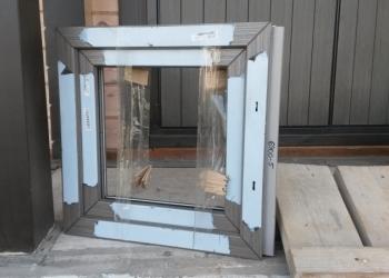 Окно (рама) REHAU Delight-Design, шир 600 * выс 570 * глуб 70 мм, Новое
