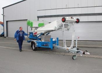Телескопический подъемник грузов