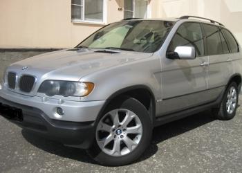 BMW X5, 2003 с новым двигателем