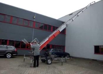 Подъемник Вocker - высота подъема груза 25 метров