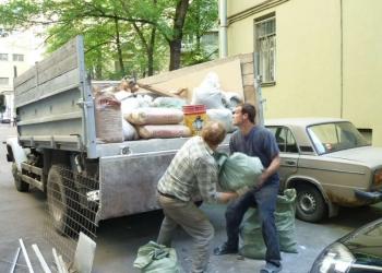 Вывоз в строительного мусора, хлама, старой мебели «под ключ» – ТК «РазГруз»
