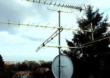 Установка антенн в Искитиме, антенщики на дом