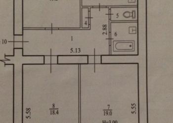 Комната в 3-к 31 м2, 1/3 эт.