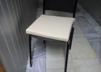 Чехол на подушку для стула из экокожи