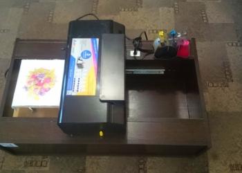 Планшетный (текстильный, сувенирный пищевой) принтер  на базе Epson WF30