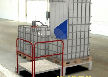Комплекс мойки оборудования и тары для производства ВД ЛКМ