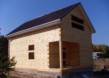 Дом из бруса 6х6, 6х8, 6х9 метров