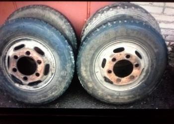 Продаю колеса в сборе на хендай hd 72-78