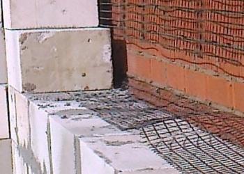 Базальтовая сетка (кладочная)для блока