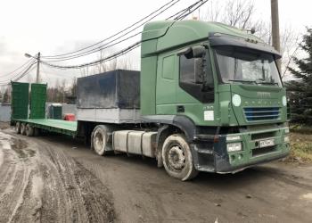 Продается низкорамный трал 9939ВА Тверьстроймаш (2006) с тягачом Ивеко (2004)