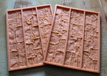 Гибкие полиуретановые формы для декоративного камня