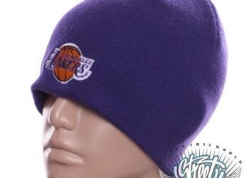 Шапка Lakers баскетбол клубная с доставкой по России