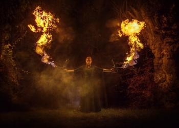 Огненное шоу на Новый Год в Крыму!