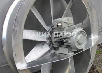 Продам осевые реверсивные вентиляторы - комплектующие