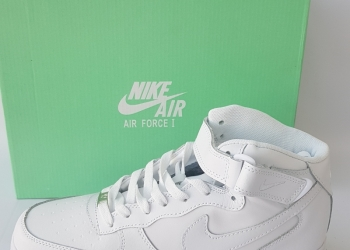 Nike Air Force, зима, с мехом