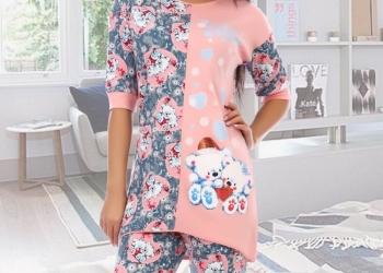 Пижама трикотажная Опалин (розовая)