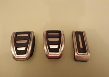 Накладки на педали для автомобилей Шкода,Ауди и Фольксваген.