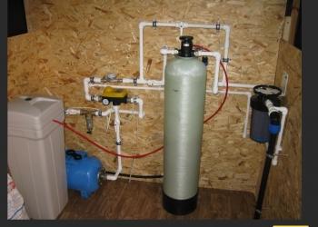 Очистка воды из скважин, водоёмов, бытовая.