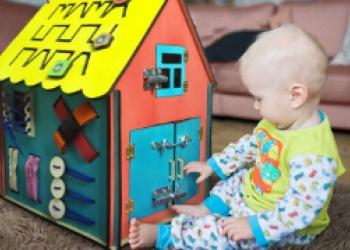 Бизидом. Развивающая игрушка для ребенка.