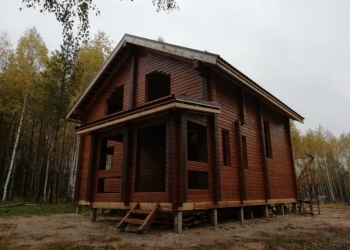Дом из бруса / Баня из бруса строительство
