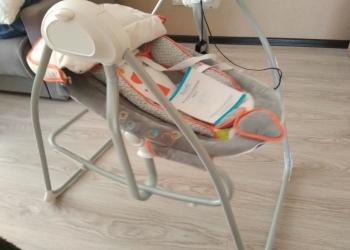 Кресло качалка детское автоматическое