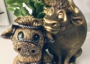 Статуэтки Бычок-копилка Символ Нового года