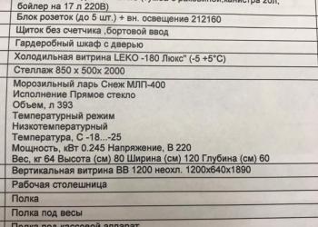 Продажа - торговый павильон П212450