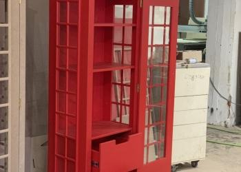 Шкаф Лондон Английская Телефонная будка