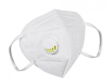 Респиратор маска с клапаном KN95