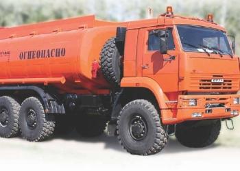 Автоцистерна нефтепромысловая АЦН-18 - КамАЗ-65224 в наличии.