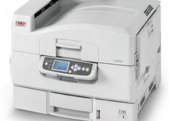 Принтер OKI для мини-типографии.