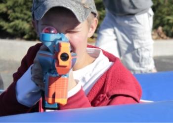 Лазертаг для детей - отличная игра, чтобы весело провести время!