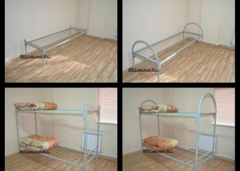 Кровати металлические для рабочих и общежитий