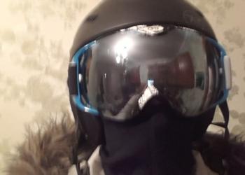 Крутейшая горнолыжная маска (сфера)